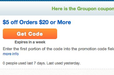 A Real Groupon Promo Code for 25% OFF?